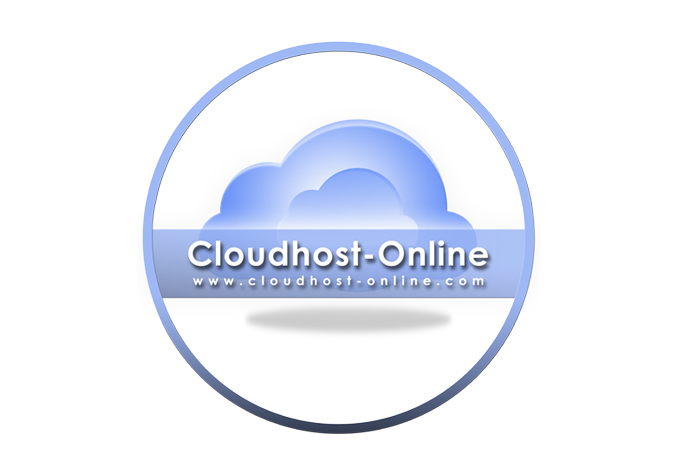 Cloudhost Online Logo Overlay