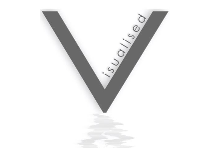 Visualised Design Logo Overlay